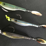 tail spin lure